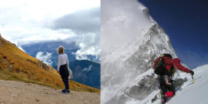 Hiking vs Mountaineering